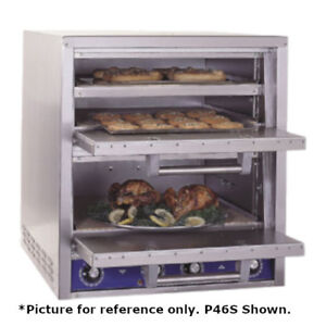 Bakers Pride P 46bl Brick Lined Electric Countertop Bake And Roast Pizza Oven