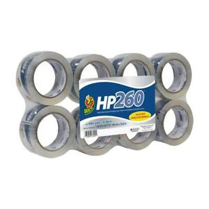 Duck Hp260 8 Rolls Packing Shipping Tape Refill 1 88 Inch X 60 Yard Clear
