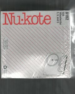 New 6 Pack Nukote B192 Replacement Ribbon For Ibm Wheelwriter 3 5 And 6