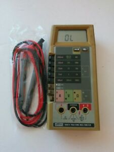 Fluke 8062a True Rms Multimeter Test Lead Probes serviced Calibrated 8060a