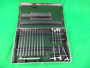 Stryker Surgical Small Joint Arthroscopy Instruments W Tray