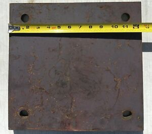 3 4 Steel Plate 12 5 8 X 12 Blacksmith Bench Hammer Plate Matched Holes 13 16