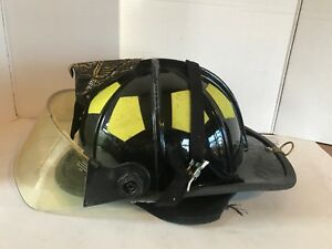 Bullard Firedome Series Firefighter Fire Helmet Traditional Style Black