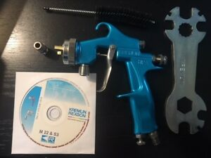 Kremlin M22 Hpap 135 145 203 Pressure Spray Gun Kit binks Devilbiss Anest Sata
