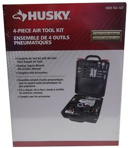 Husky 4-Piece Air Tool Kit