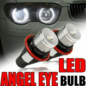 For Bmw 525i 530i 745li 745i 760li X5 X3 6000k Led Angel Eye Marker Light Bulb
