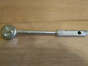Vintage Usa Made Montgomery Ward Powr Kraft 100 No D84 4860r 1 2 Drive Ratchet