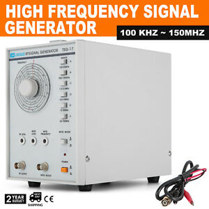 High Frequency Signal Generator Rf 100khz 150mhz 110v 600 Stable High Grade