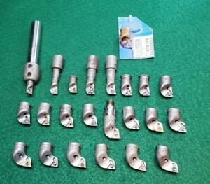 Lot Of Kaiser Modular Tooling 615 Boring Heads Free Shipping
