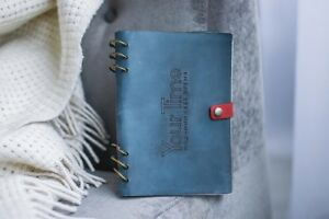 Unique Handmade Leather Planner Cute Scheduler Diary Life Organizer Goal Journal