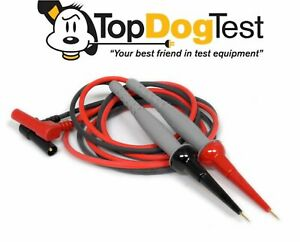 Probe Master 8152 Banana To Micro tip Silicone 1kv Catiii Gold Plated Test Leads