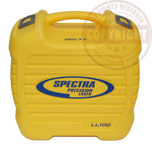 Spectra Precision Ll100 Hv101 Laser Level Carrying Case 18179