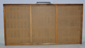 Vintage Printer s Type Tray drawer Shadow Box Full Size Case 3 Compartments
