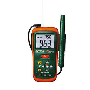 Extech Rh101 Hygro thermometer With Ir Thermometer