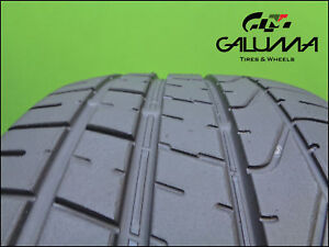 2 Two Tires Excellent 265 35 20 Zr P Zero 95y Porsche Ford Mustang 48578