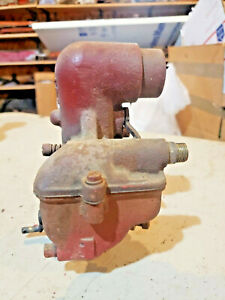 Mccormick Farmall F12 F14 Tractor Engine Carburetor Part Brass Bottom Carb Ihc