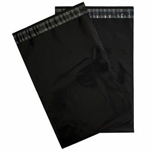 Black Poly Mailers 14 5x19 Pack Of 100