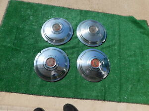 1940 s Cadillac Hubcaps 14 Inch 1940 1941 Wheel Covers