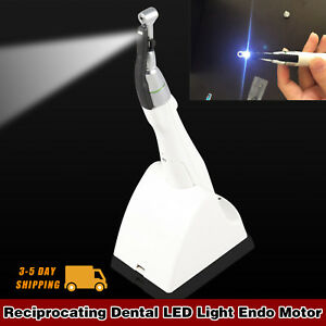 Dental Led Endo Motor For Root Canal Treatment 16 1 Reduction Contra Angle Ajik