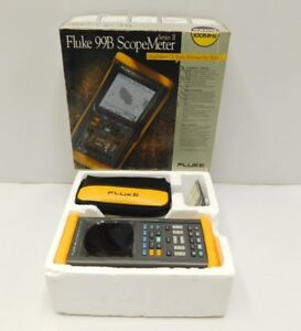 New Fluke 99b Series Ii Scope Meter Scopemeter e16 770