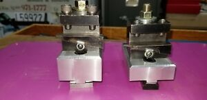 South Bend Lathe 9 10k Shop made Riser Blocks For Double Tool Cross Slide