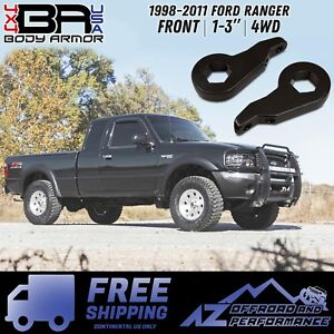 Body Armor 4x4 1998 2011 Ford Ranger Front 1 3 Lift Kit free Shipping
