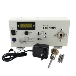Hp 100 Digital Torque Meter Screw Driver Wrench Measure Tester With Calibration