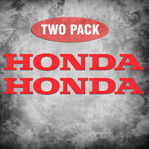Honda 2 Pack Vinyl Decals Sticker Motorcycle 600rr 1000rr Atv Car Jdm Truck