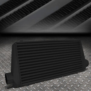 Universal Black Aluminum Fmic Turbo Front Mount Intercooler 31 x13 x3 tube
