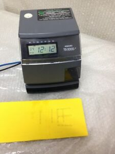 Amano Ts 3000i Automatic Time Sync Web Clock