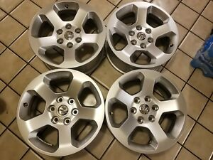 2019 18 Dodge Ram 1500 Factory Oem Alloy Wheels Rims Set Of 4 Free Shipping