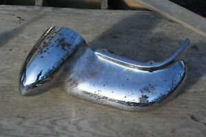 1956 Cadillac Front Bumper End Solid
