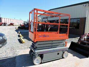 2006 Skyjack Sjiii3219 Scissor Lift Electric Good Condition Low Hours