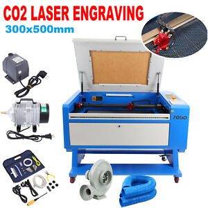 High Precise Usb Port 60w Co2 Laser Cutter Engraving Cutting Machine 700x500mm