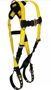 Web Devices Full Body D ring Safety Harness 400lb Padded Grommets Ansi Osha