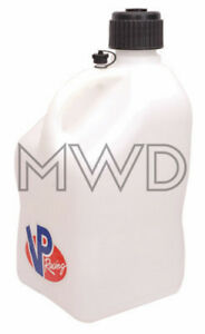 Vp Racing White 5 Gallon Square Fuel Jug utility Water Container jerry Gas Can