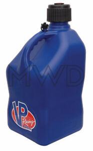 Vp Racing Blue 5 Gallon Square Fuel Jug utility Water Container jerry Gas Can