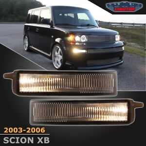 Fit Scion Xb 03 06 Smoke Lens Pair Bumper Fog Light Lamp Oe Replacement Switch