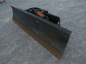 Used Grouser 1300 96 6 Way Dozer Blade Skid Steer Loader Attachment Ship 199
