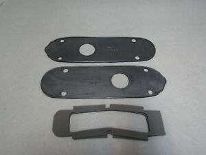 49 50 Mercury Taillight Housing Pads Lens Gaskets