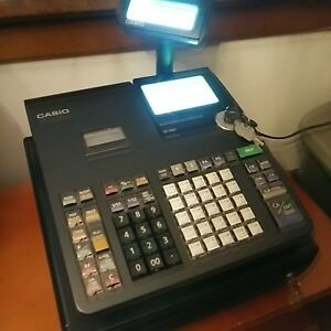 Casio Se s800 Electronic Pos Point Of Sale Cash Register 2 Lcd Displays