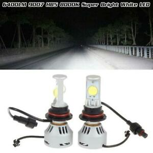 6400lumen 9007 Hb5 8000k Cool White Led Headlight High Low Dual Beam