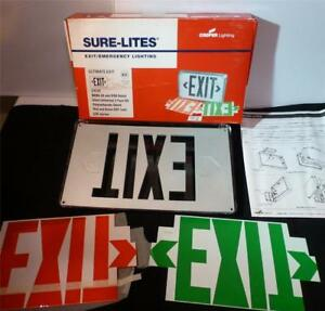 Cooper Sure Lite Emergency Exit Sign Uxuk