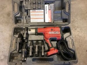 Ridgid Rp 330 Corded Propress Tool With 1 2 2 Jaws