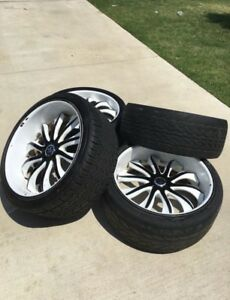24 Inch Rucci Forged Rims And Tires 5 Lug