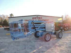 2012 Genie Z45 25 Articulating Boom Lift Low Hour Good Condition