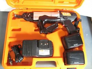 Pam Pc 12 14 4v Cordless Drywall Screw Gun In Case W charger 2 Batteries