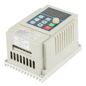 Single Phase Variable Frequency Drive Vfd Speed Inverter Motor Controller 0 45kw