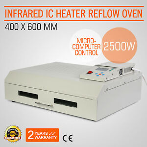 Infrared Ic Heater Reflow Oven T962c I Rework Station Smd Bag Automatically