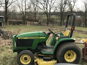 John Deere 4200 Compact Tractor willing To Trade For Another Tractor